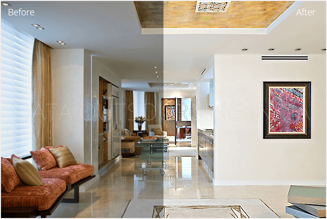 Real Estate Photo Editing Services India