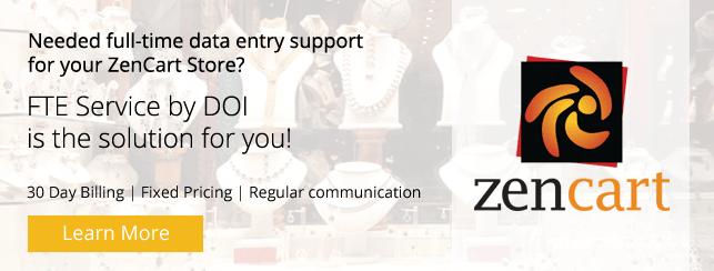 Dedicated Team for Zen Cart Product Data Entry